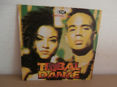 7 inch Vinyl         2 UNLIMITED                   ***TRIBAL DANCE***