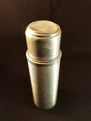 Collectible Thermos Aluminum Model 2284 with Cork Made in USA