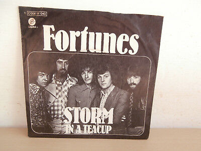 7 inch Vinyl         FORTUNES                 ***STORM IN A TEACUP***
