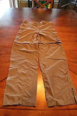 BOY CUB SCOUT NYLON SWITCHBACK PANTS - YOUTH X-LARGE (Olive) BSA - 41