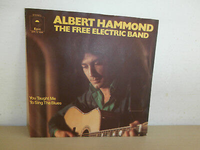 7 inch Vinyl         ALBERT HAMMOND                ***THE FREE ELECTRIC BAND***
