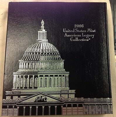 2006 U.S. Mint American Legacy Collection w/ Original Box and COA