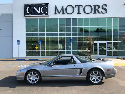 2002 Acura NSX 2dr NSX-T Open Top 3.2L Manual 2002 Acura NSX-T NSX Targa Open Top Manual Grey Only 14,775 Miles Collector Car