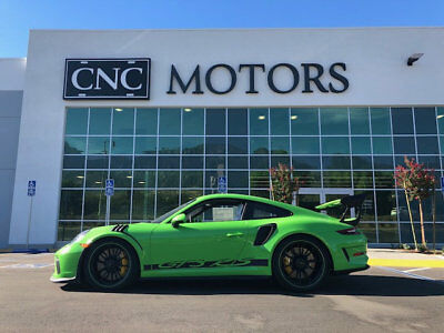 2019 Porsche 911 GT3 RS Coupe 2019 Porsche 911 GT3 RS GT3-RS Lizard Green 991 991.2 GT3RS 34 Miles CNC Motors