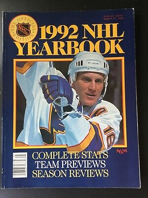 NHL Yearbook 1992
