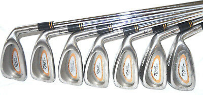 Cleveland TA5 Irons 3-PW No 9-Iron Set Stiff True Temper Steel Right Hand