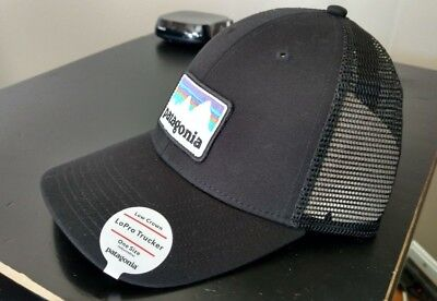 d10dc70b868 NWT - PATAGONIA Shop Sticker Patch LoPro Trucker Hat Snapback Cap ...