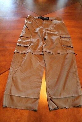 BOY CUB SCOUT NYLON SWITCHBACK PANTS - YOUTH X-LARGE (Olive) BSA - 43