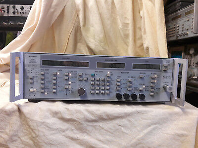 Wiltron 6747A -20 Synthesized Sweep Frequency Generator, 10 MHz - 20 GHz opt 02