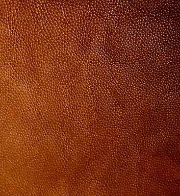 Tan Brown Leather Remnants 1.5mm Full grain aniline soft cowhide various sizes