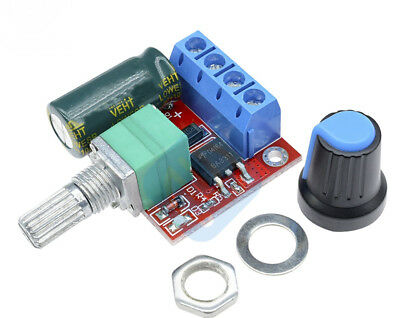4.5-35V 90W PWM DC Motor Speed Controller Control 5A LED Dimmer Board 20KHz