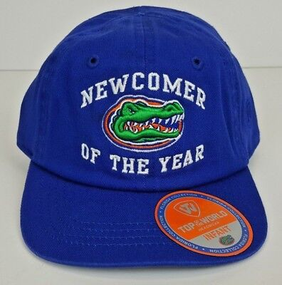 brand new 6e43e aa14b Florida Gators Top of the World INFANT Blue Cotton Hat w  3D Logo Licensed  NWT