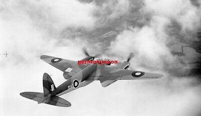 RAF,  DH MOSQUITO,  ML963,  *W/o 1945,  LARGE ORIGINAL NEGATIVE & PHOTO   (064)