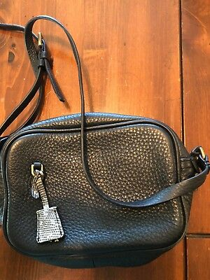 J.CREW AUTHENTIC PEBBLED Leather Kirby Hobo Tote Bag RARE Two Tone ... ad906aa171e3d