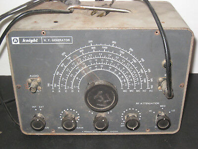 Knight RF Signal Generator By Allied Radio