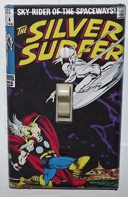 Silver Surfer 4 Light Switch Cover Plate - Thor Marvel FREE SHIPPING