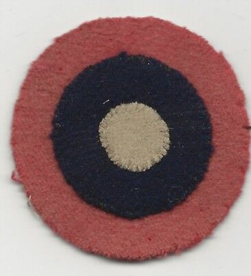 On Wool Felt Multi Piece WW1 Aviation Roundel Red White Blue Great Colors