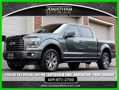 2016 Ford F-150 XLT FX4 Special Edition 2016 XLT FX4 Special Edition Used Turbo 3.5L V6 24V Automatic 4WD Pickup Truck