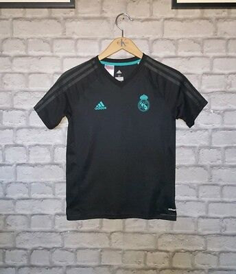 Boys ADIDAS Climacool REAL MADRID T Shirt Age 11-12 Years