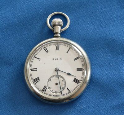 Antique  Elgin 1920 Pocket Watch 7 jewels serial no. 23332615, spares or repair.
