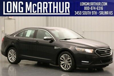 2015 Ford Taurus Limited 2015 Limited Used Certified 3.5L V6 24V Automatic FWD Sedan