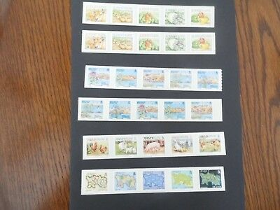 jersey stamps selection 2001 to 2010
