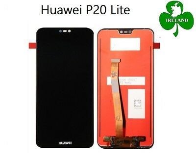 For Huawei P20 Lite LCD Touch Screen Display Digitizer Black Replacement New