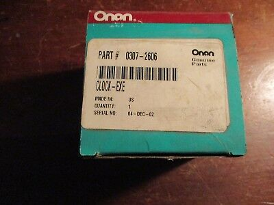 Onan 307-2606 Exerciser Clock