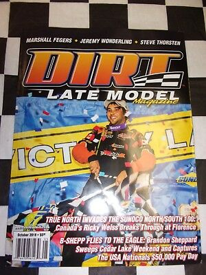 DIRT LATE MODEL Magazine February 2018 Racing Mag Michael Page GR