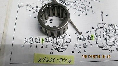 Harley Big Twin Evolution Pinion Shaft Bearing 1987-98 P/N 24626-87A Grey-White