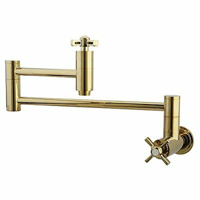 Kingston Brass Millennium Pot Filler Polished Brass KS8102ZX