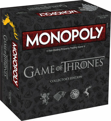 Monopoly Game of Thrones Deluxe Edition (englisch) Boardgame Brettspiel GoT NEU