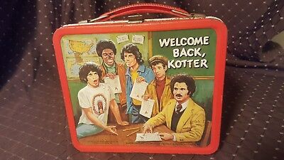 Vintage Lunch Box Welcome Back Kotter Vinnie Barbarino