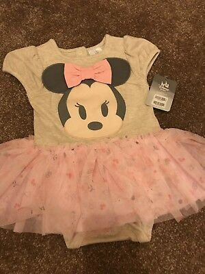 disney baby Disney Store Minnie Mouse Tutu Vest 12-18 Months Brand New With Tags