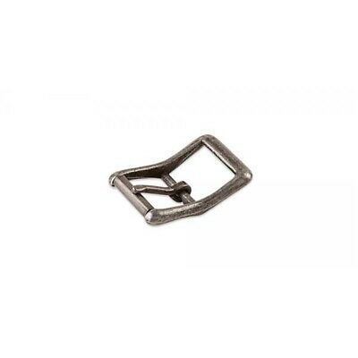 "Centre Bar Roller Buckle - 1"" (25mm) Antique Nickel Plate Finish - Nickel Free"