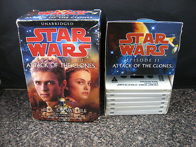 Star Wars: Attack of the Clones - Salvatore (2002, Book on Cassette, Unabridged)