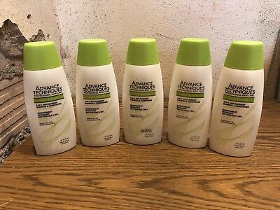 Avon Advanced Techniques Daily Results 2in1 Shampoo and Conditioner Lot of 5