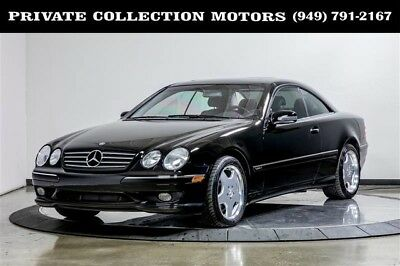 2001 Mercedes-Benz CL-Class  2001 Mercedes-Benz CL600 CL-Class CL600 1 Owner Immaculate