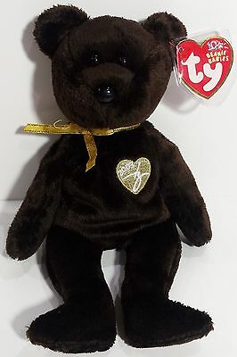 """TY Beanie Babies """"2003 SIGNATURE BEAR"""" Teddy Bear - MWMTs! A MUST HAVE! RETIRED!"""