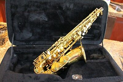 Fine Selmer Paris Mark VII Alto Saxophone, fully adjusted, with case, see video
