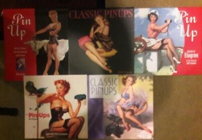 Pin Up Calendars lot of 5 unsealed