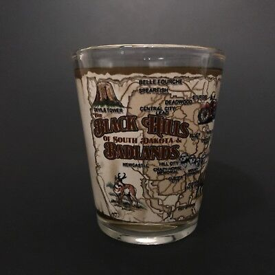 Black Hills, Badlands, South Dakota Shot Glass