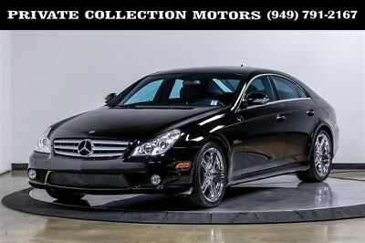 2007 Mercedes-Benz CLS-Class  2007 Mercedes-Benz CLS63 AMG 6.3L AMG CLS-Class Low Miles Well Kept