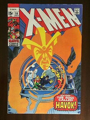 X-Men (Vol 1) #58,  1St App Of Havok!!  Higher Grade Key!!  Neil Adams Art!!