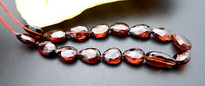 "RARE MOZAMBIQUE GARNET FACETED AAAAA 5.7-6mm FANCY GEM BEADS 5.30"" RARE"