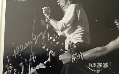 """Guns N' Roses photo signed by """"My Michelle"""" who's in crowd 1985 Slash Axl Rose"""
