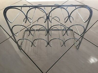 Steel metal wine rack