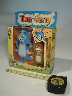 1973 Louis Marx  MGM TOM and JERRY Figures ~ in Original Box!