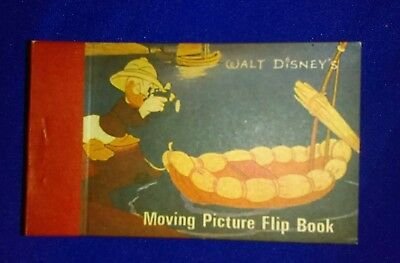 Disney Moving Picture Flip Book Mickey Mouse Donald Duck  Vintage