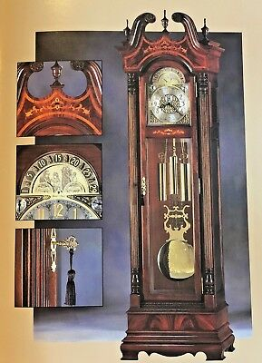 Howard C. Miller Presidential Edition Grandfather Clock – Timeless Classic!